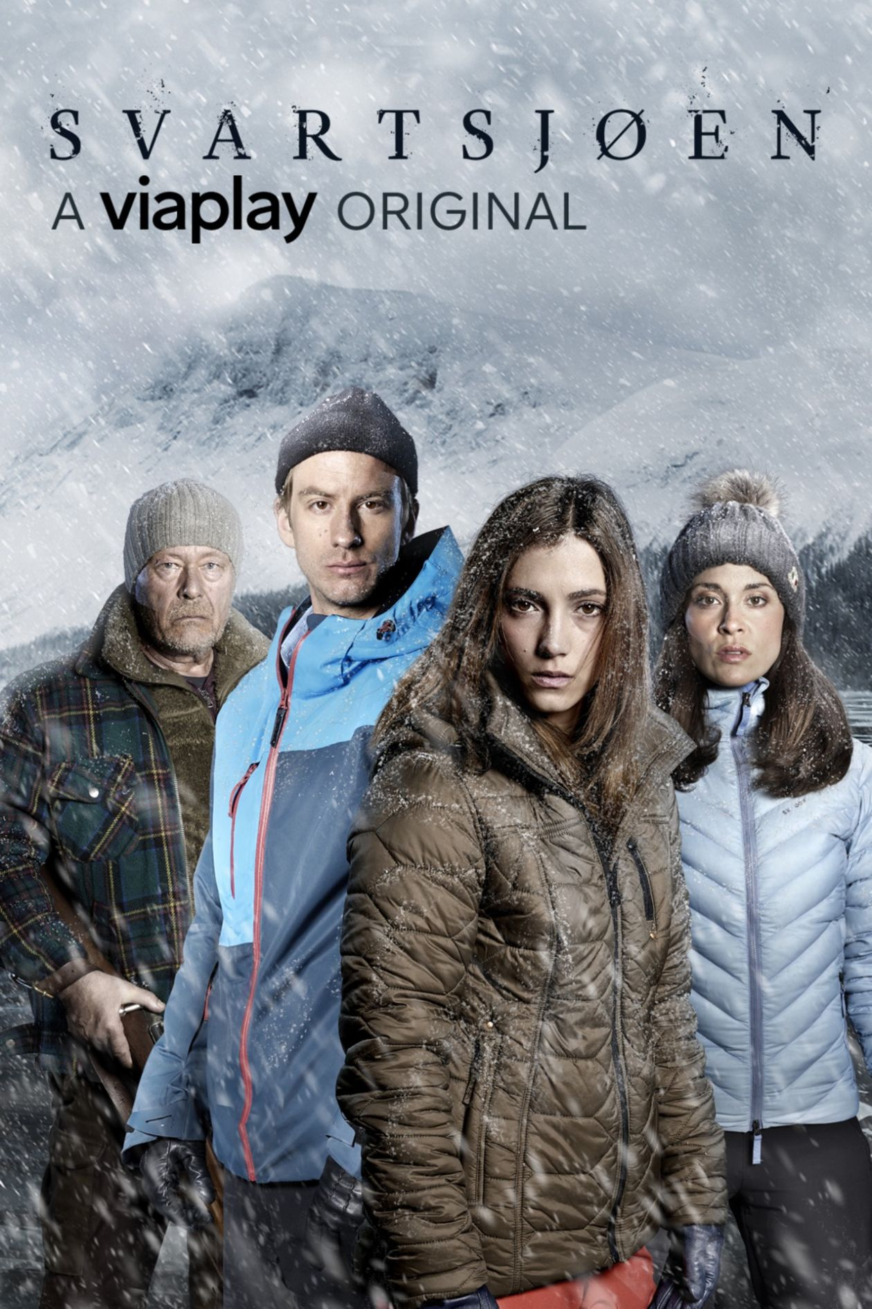 Sarah-Sofie Boussnina actress / Black Lake / Svartsjön 2016 Series Poster