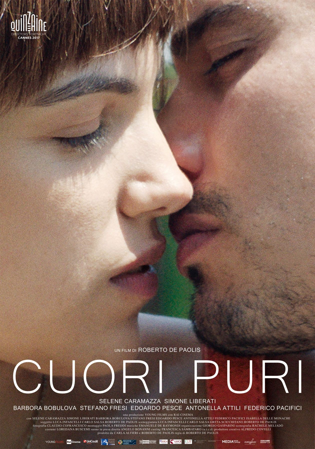 Selene Caramazza Italian actress | Cuori puri / Coeurs purs / Roberto De Paolis 2017 / Movie Poster / Affiche film