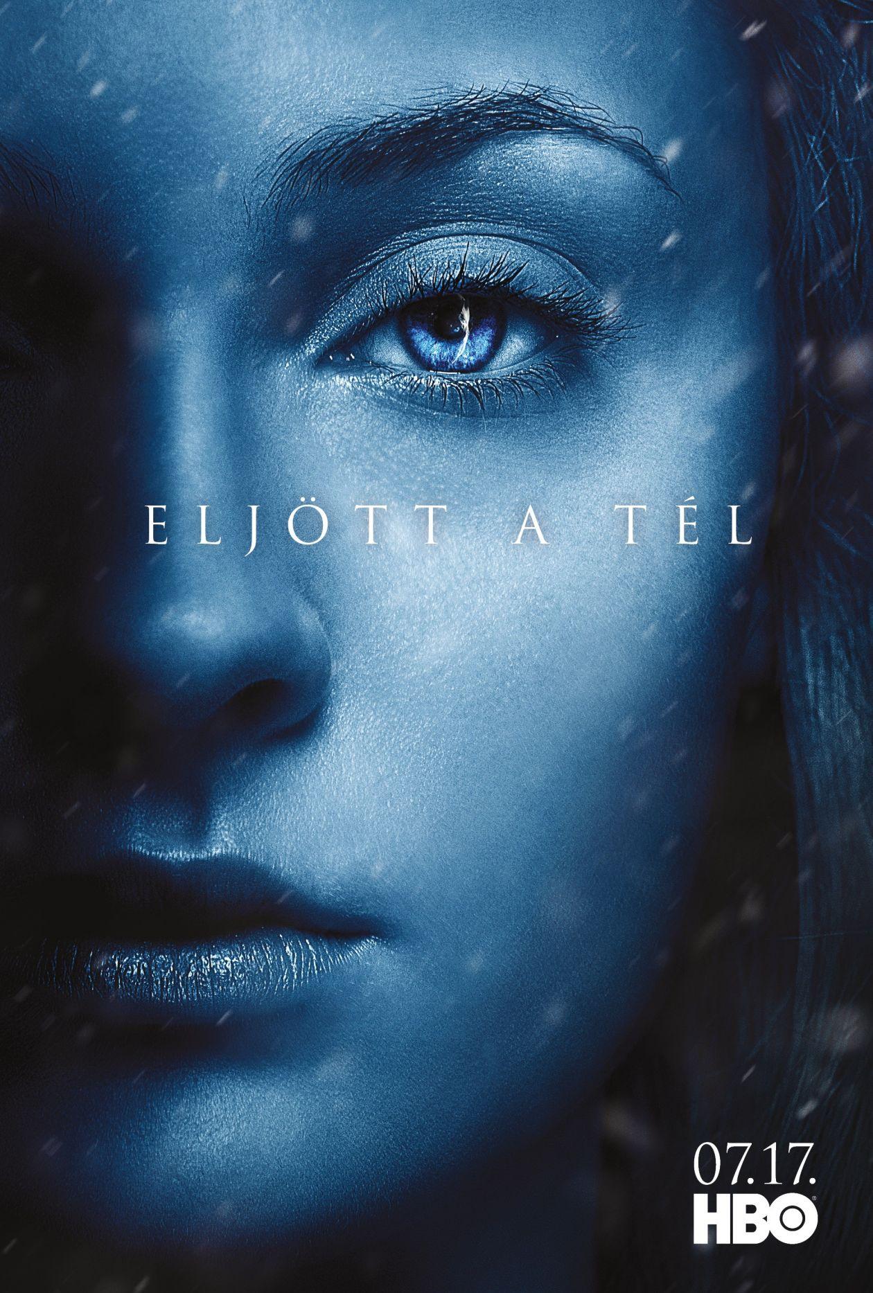 Sophie Turner actress   Game of Thrones / Sansa Stark SEASON 7 2017 SERIES POSTER AFFICHE
