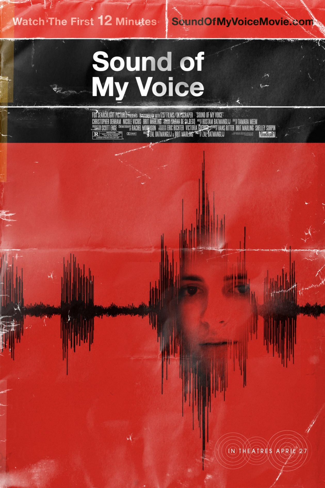Brit Marling actress | Sound of my voice / Zal Batmanglij 2012 Movie Poster / Affiche film