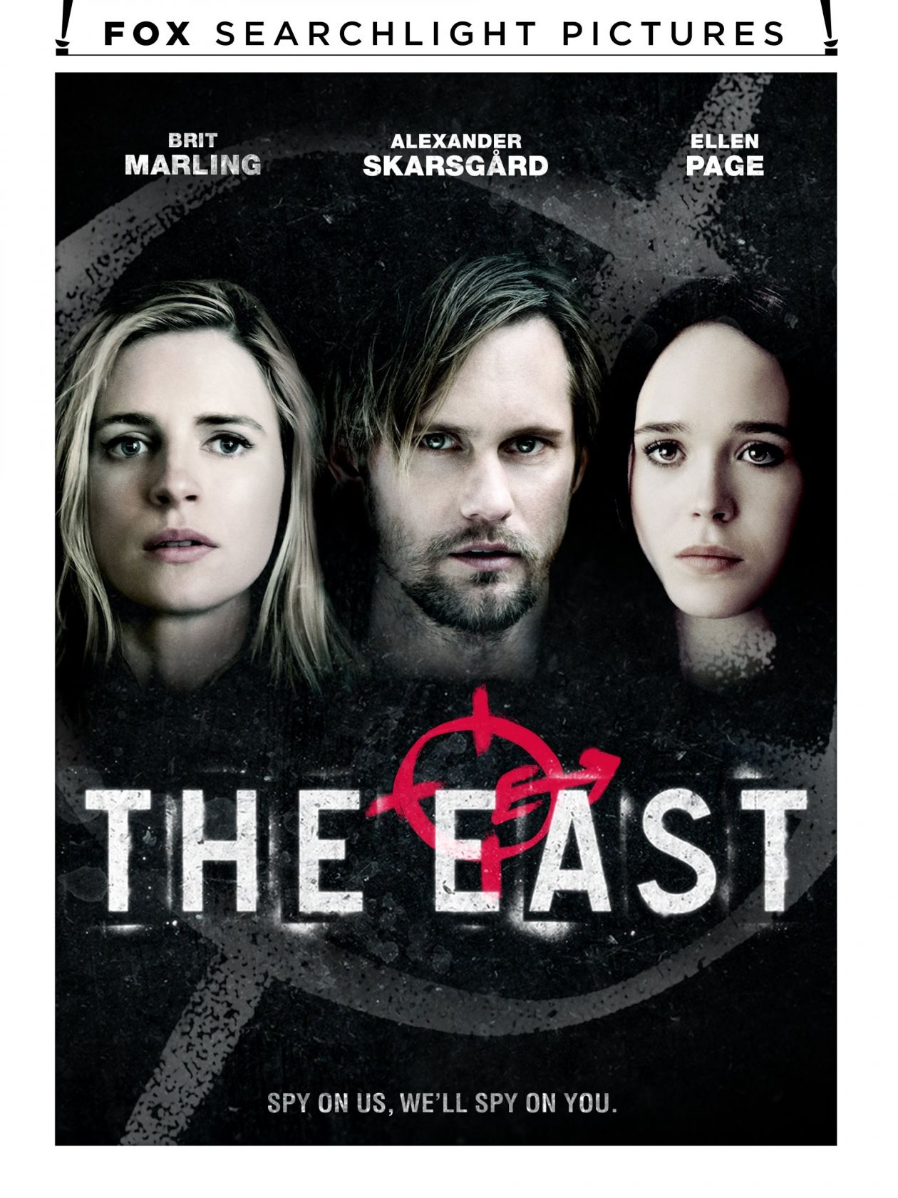 Brit Marling / Ellen Page | The East / Zal Batmanglij 2013 / Movie Poster / Affiche film