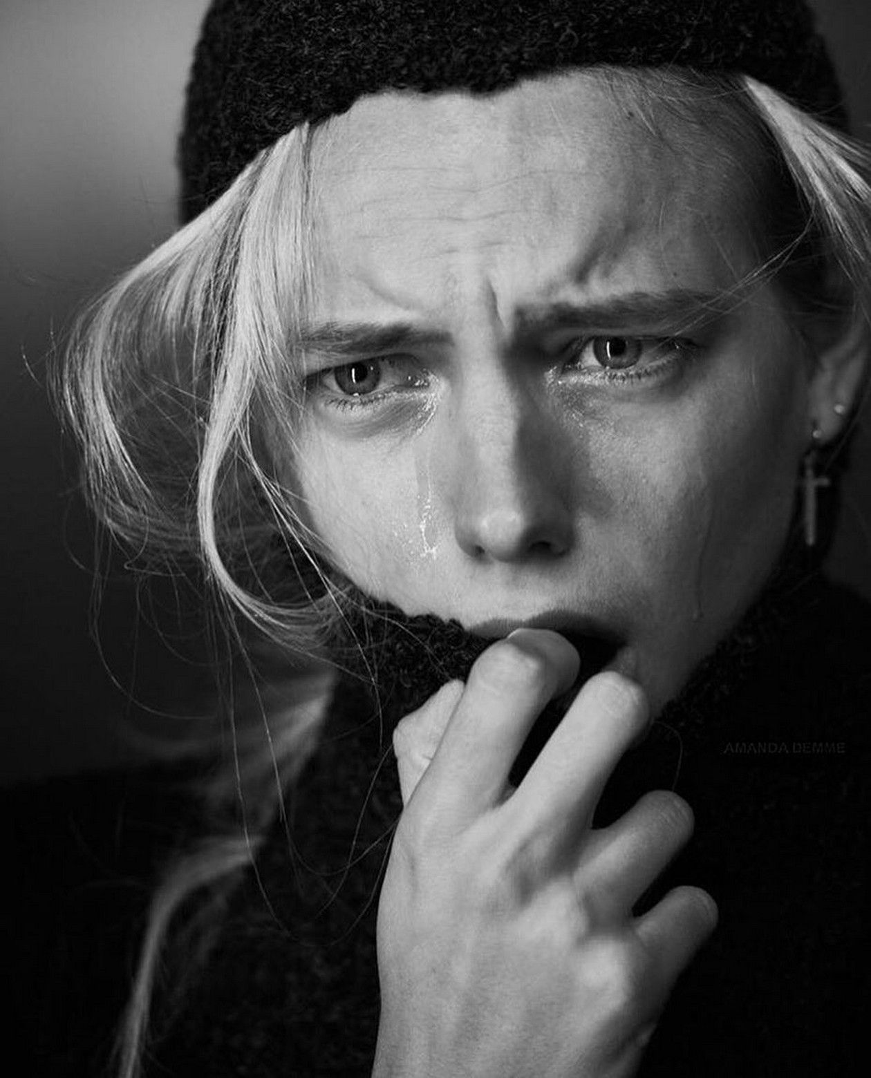 Erika Linder  The Fashionable Lampoon / Photo Amanda Demme