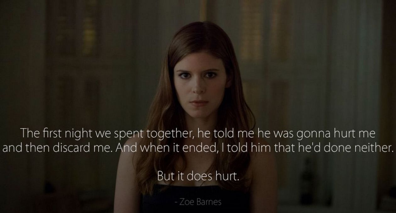 Kate Mara | House of Cards : Zoe Barnes | NETFLIX 2013 - 2016