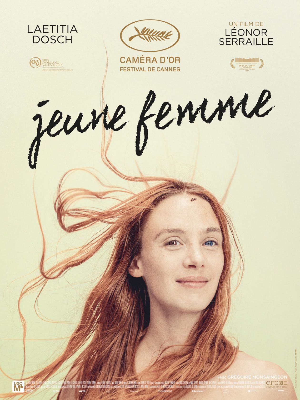 Laetitia Dosch French and Swiss actress / Jeune femme / Léonor Serraille 2017 / Movie Poster / Affiche du film