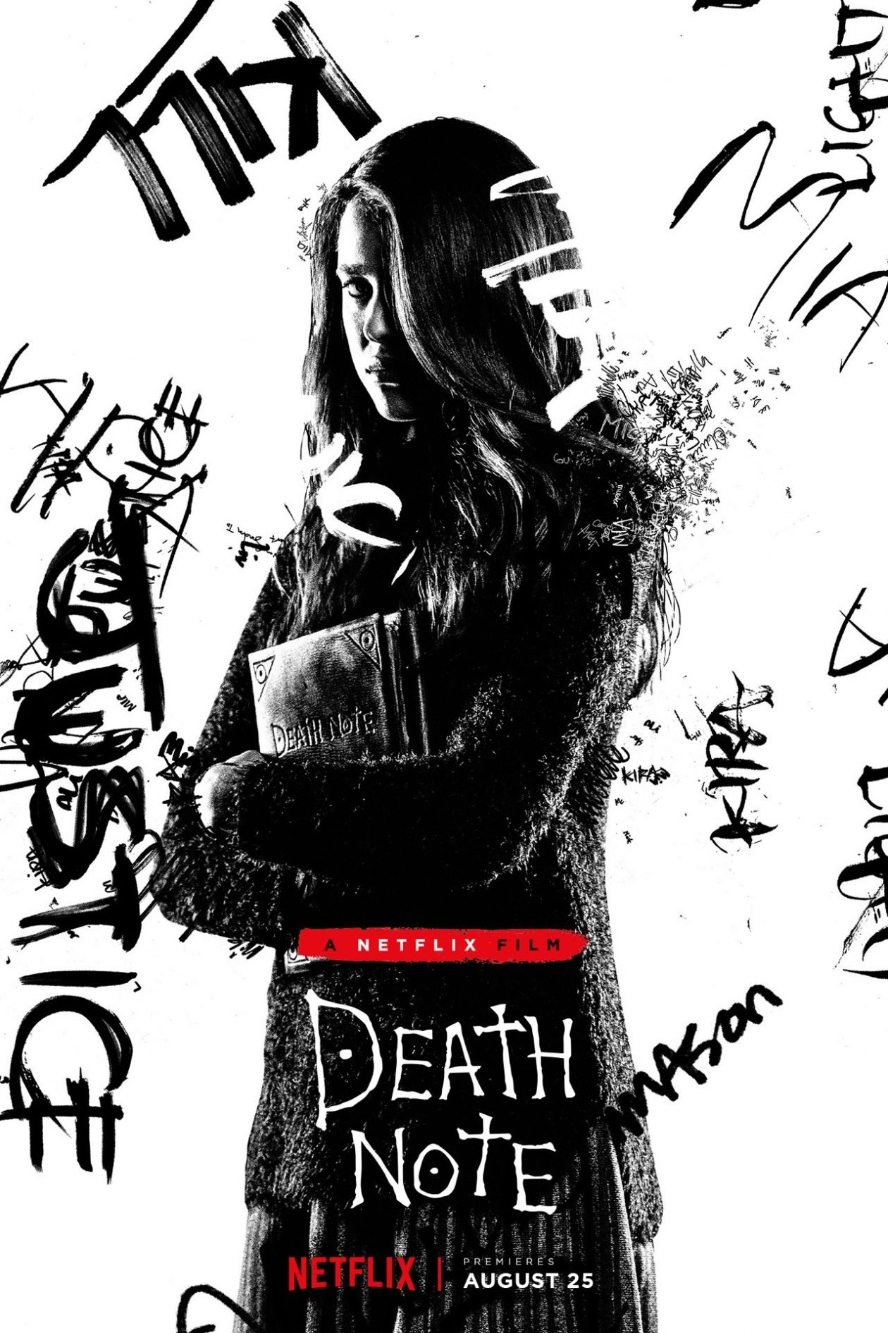 Margaret Qualley actress | Death Note / Netflix 2017 Movie Poster / Affiche film