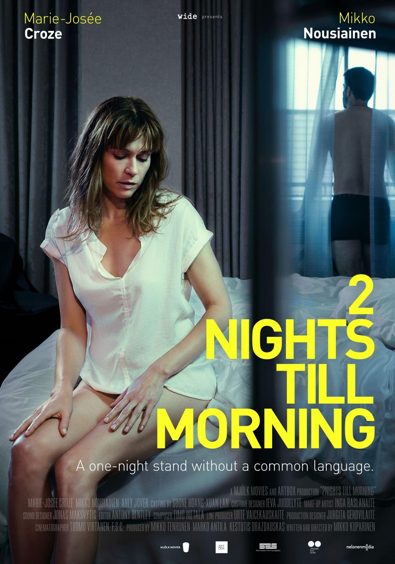 Marie-Josée Croze actress / 2 Nights Till Morning | Mikko Kuparinen / 2 nuits jusqu'au matin
