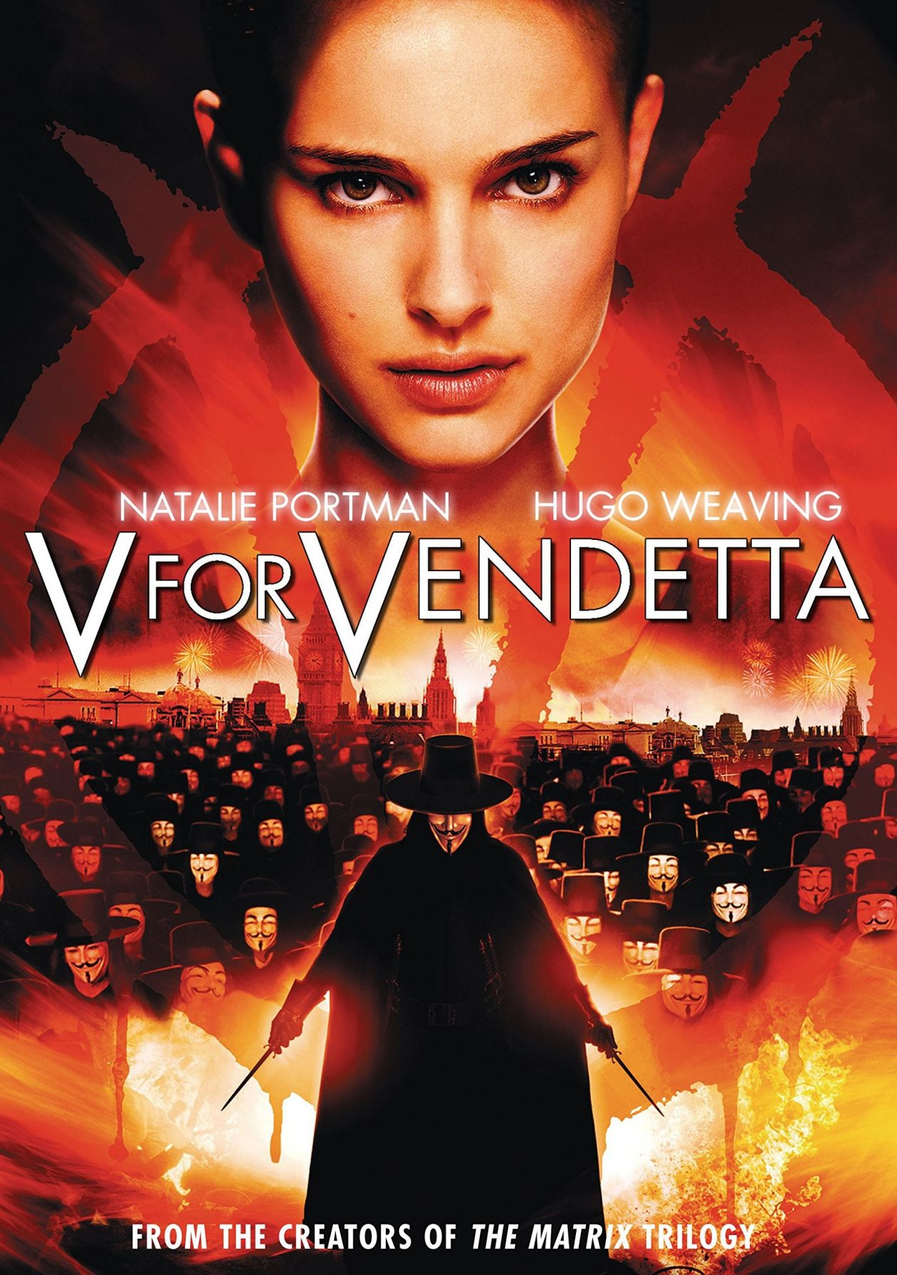Natalie Portman | V for Vendetta / James McTeigue 2005 Movie Poster Affiche film
