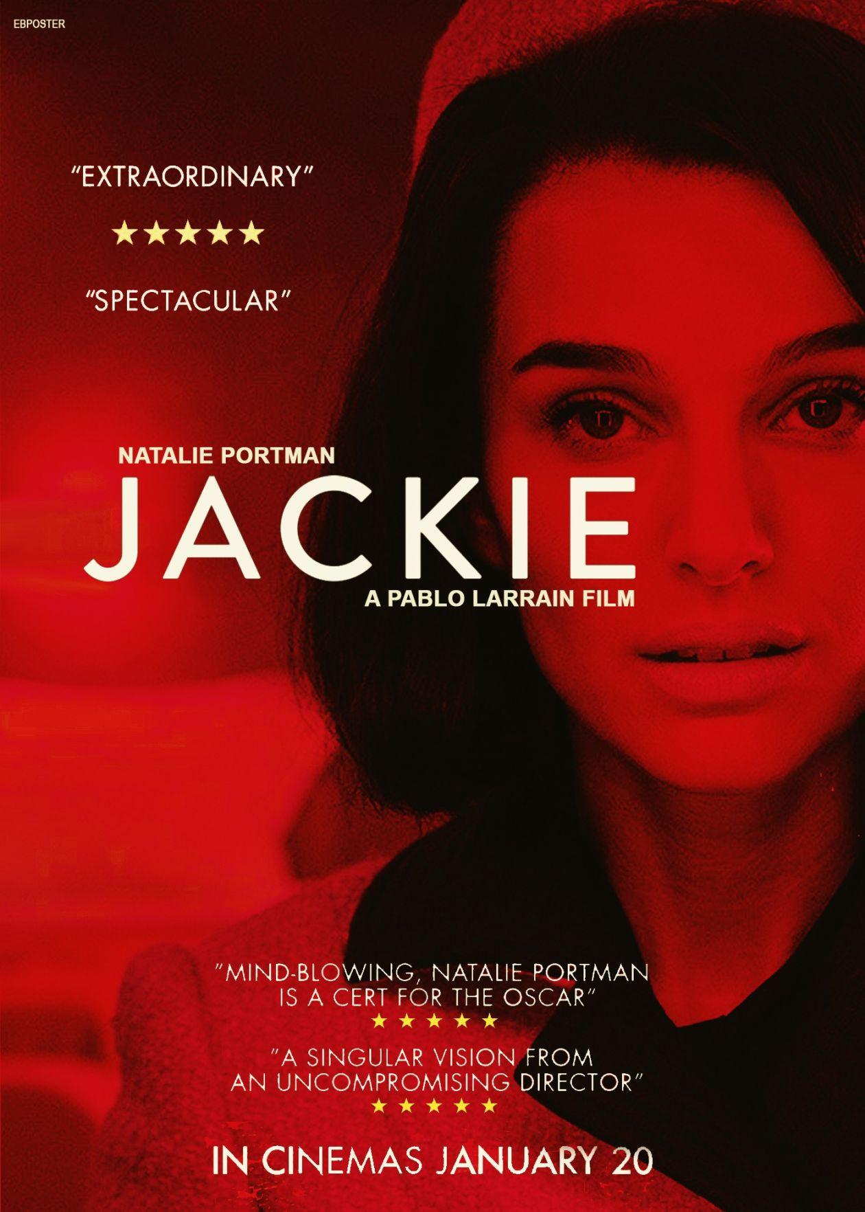 Natalie Portman | Jackie / Pablo Larrain 2016 / Movie poster / Affiche du film
