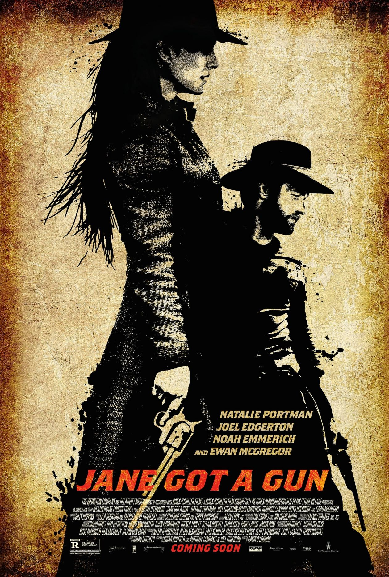 Natalie Portman | Jane got a gun | Gavin O'Connor 2015 Movie Poster