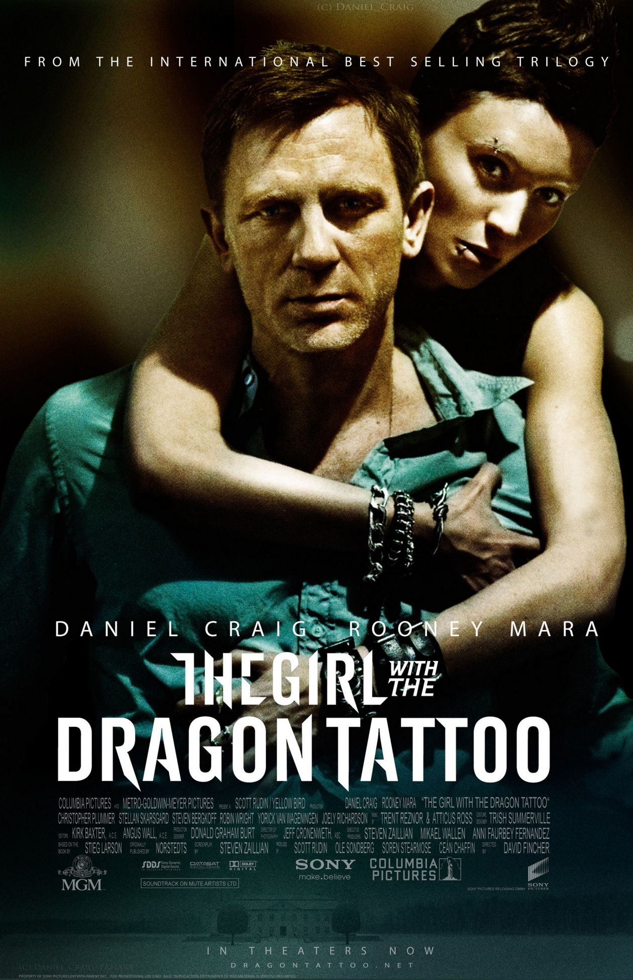 Rooney Mara : Lisbeth Salander  The Girl with the Dragon Tattoo / Millénium : Les Hommes qui n'aimaient pas les femmes  David Fincher 2011