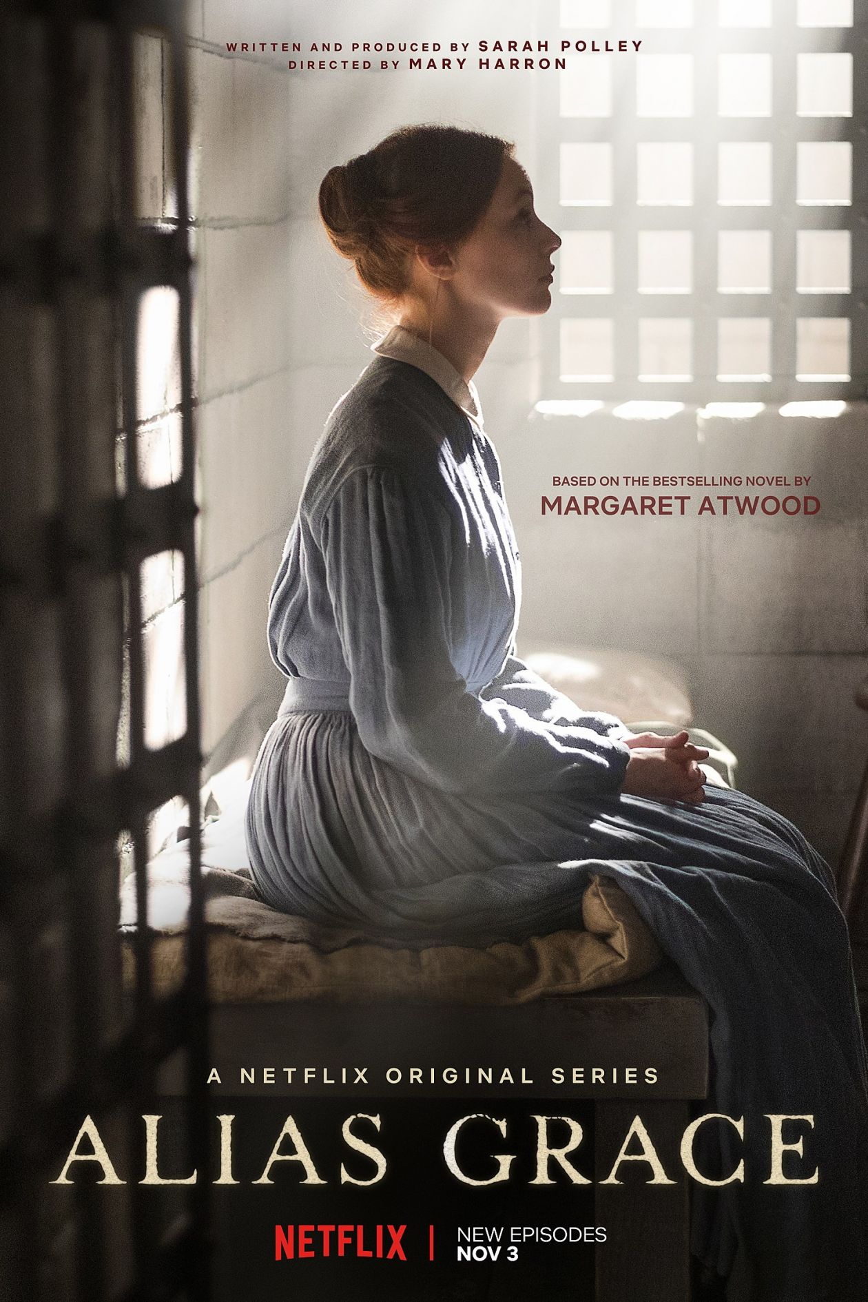 Sarah Gadon actress | Alias Grace / Mary Harron / Netflix 2017 Serie Poster