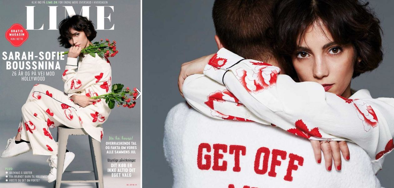 Sarah-Sofie Boussnina | LIME Cover | December 2017