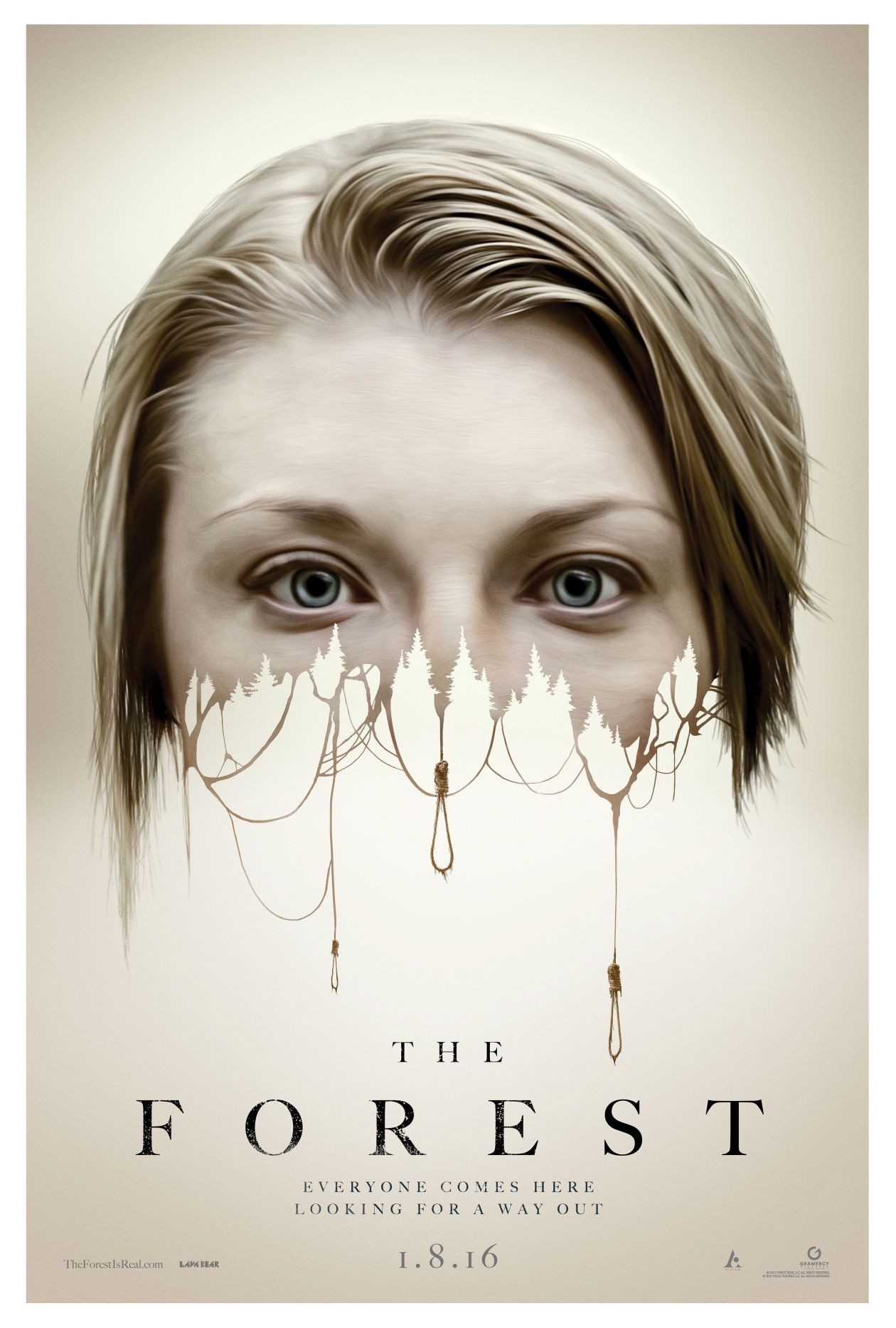 Natalie Dormer actress | The Forest / Jason Zada 2016 Movie Poster / Affiche film