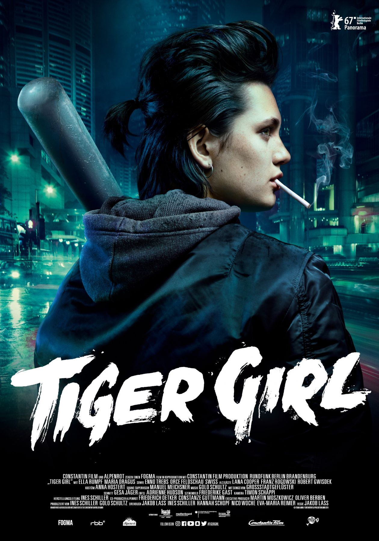 Ella Rumpf actress | Tiger Girl / Jakob Lass 2017 / Movie Poster Affiche film