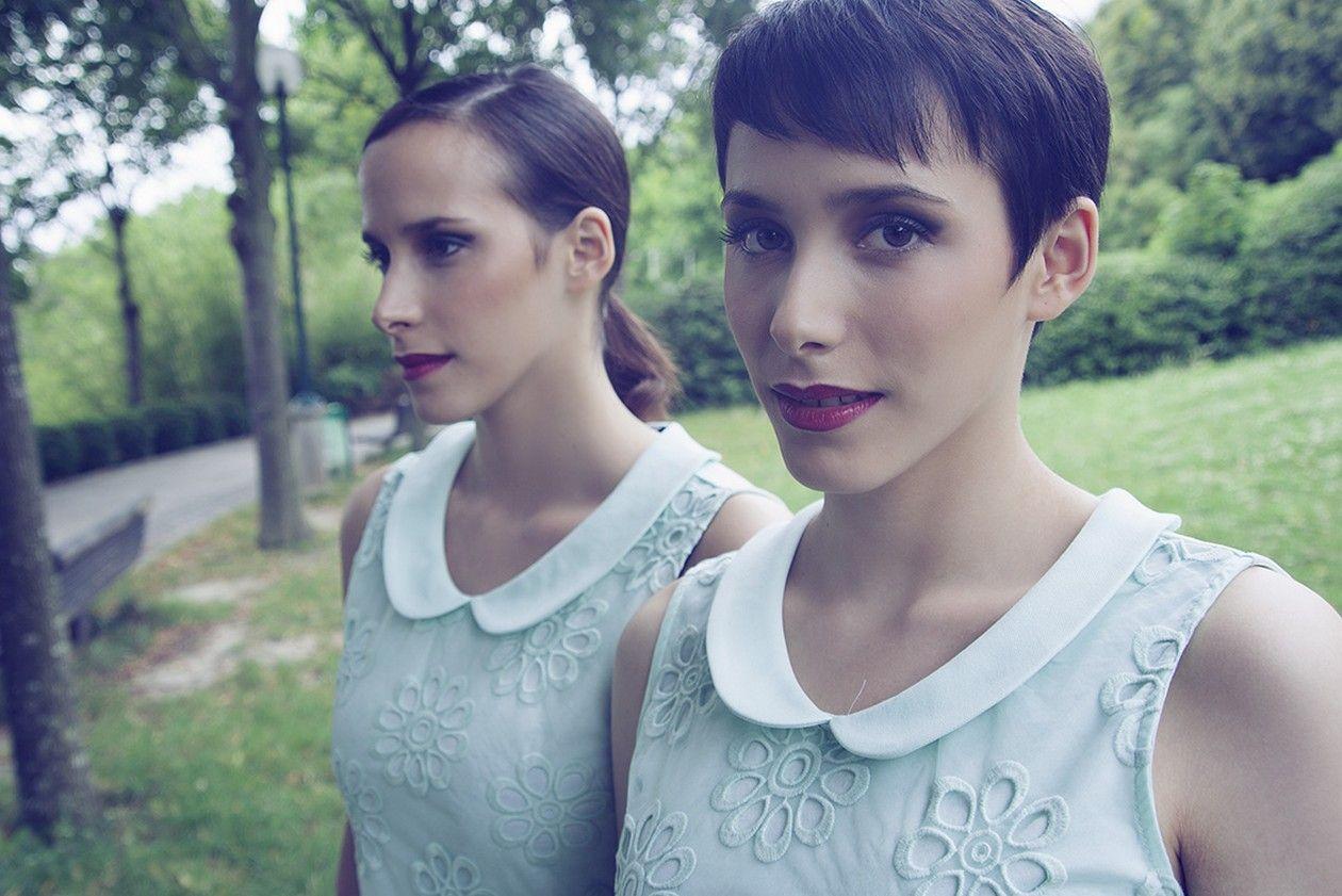 Twin sisters Hélène & Marie Rosselet-Ruiz, actresses