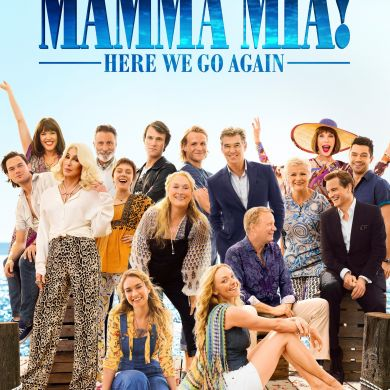 Lily James | Mamma Mia! Here We Go Again / Movie Poster Affiche film