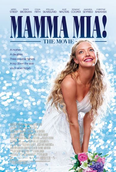 Amanda Seyfried | Mamma Mia! Movie Poster Affiche film