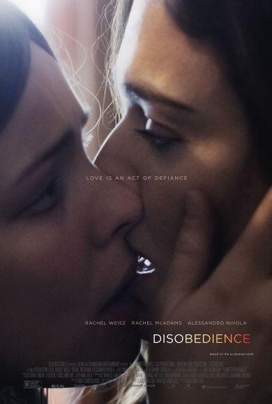 Rachel Weisz / Rachel McAdams   Disobedience / Désobéissance Movie Poster / Affiche film