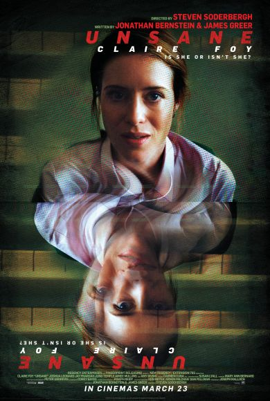 Claire Foy / Sawyer Valentini   Unsane / Paranoïa   Steven Soderbergh / Movie Poster / Affiche film