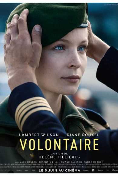 Diane Rouxel   Volontaire / Hélène Fillières 2018 Affiche film / Movie Poster