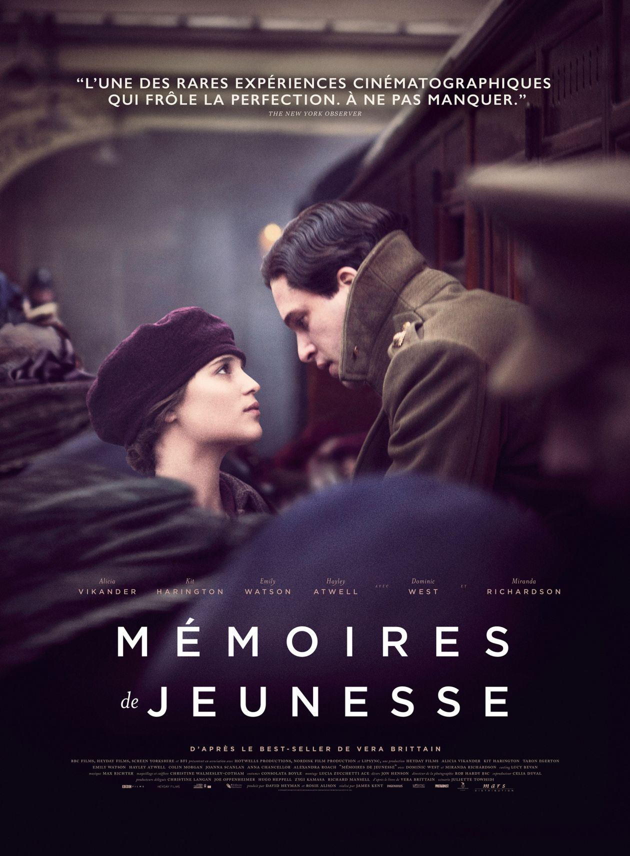 Alicia Vikander actress | Testament of Youth / Mémoires de jeunesse / James Kent 2014 / Affiche film / Movie poster