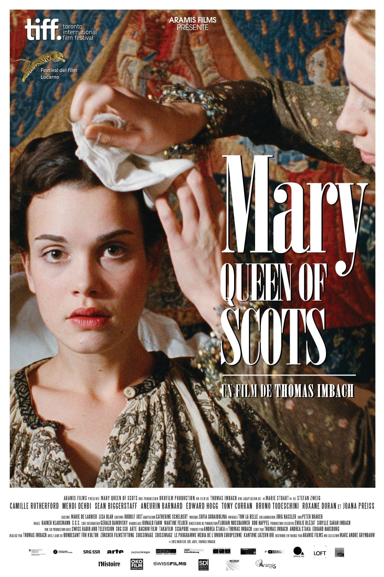 Camille Rutherford actress | Mary Queen of Scots | Thomas Imbach 2013 Movie Poster Affiche film