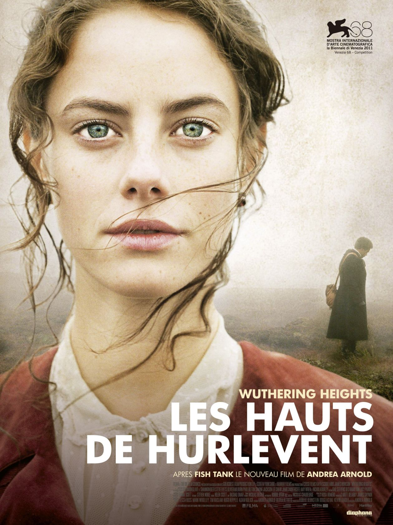 Kaya Scodelario actress / Wuthering Heights / Les Hauts de Hurlevent / Andrea Arnold 2011 Movie Poster Affiche française du film / France / French