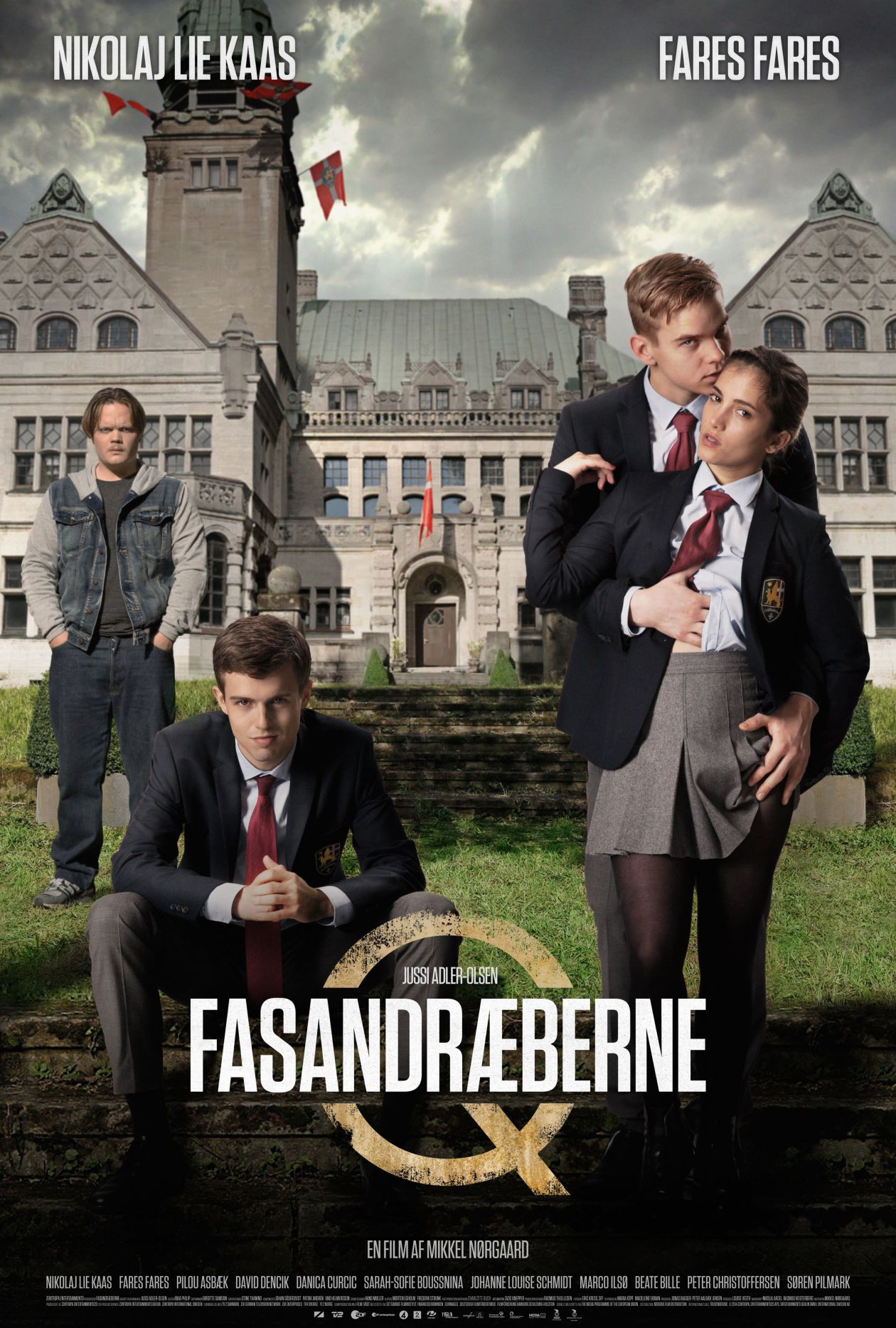Fasandræberne / Department Q: The Absent One | Mikkel Nørgaard 2014   Sarah-Sofie Boussnina actress / young Kimmie