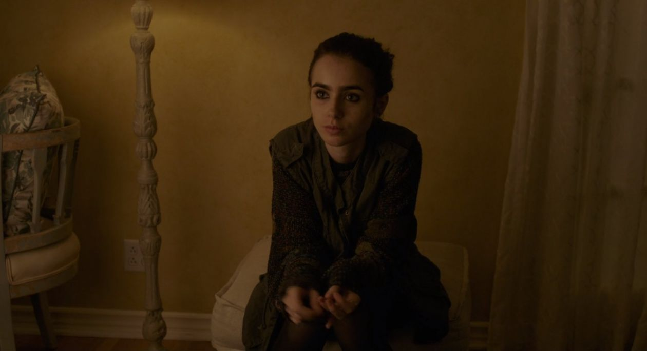 Lily Collins | To the Bone : Ellen | NETFLIX 2017