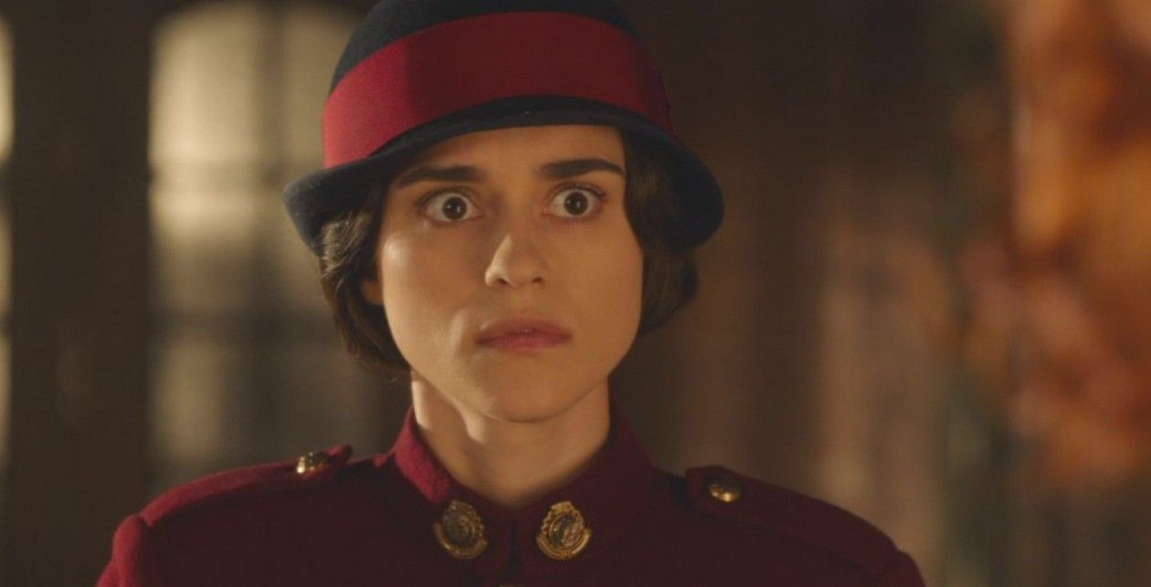 Rebecca Liddiard actress as Mary Shaw, a police officer in Toronto's police force who helps Frankie with her cases, often surreptitiously