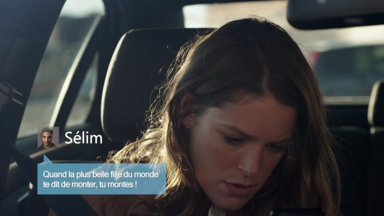 """Stéphane CAILLARD   Marseille   NETFLIX 2016 / """"Quand la plus belle fille du monde te dit de monter, tu montes !"""""""
