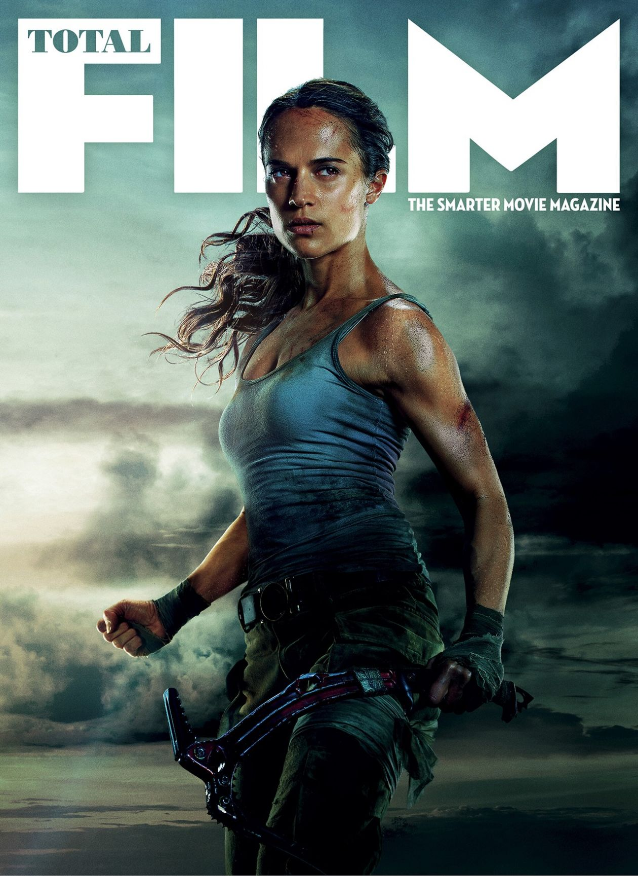 Alicia Vikander actress | Lara Croft | Tomb Raider 2018 | Total Film Magazine Cover / Poster