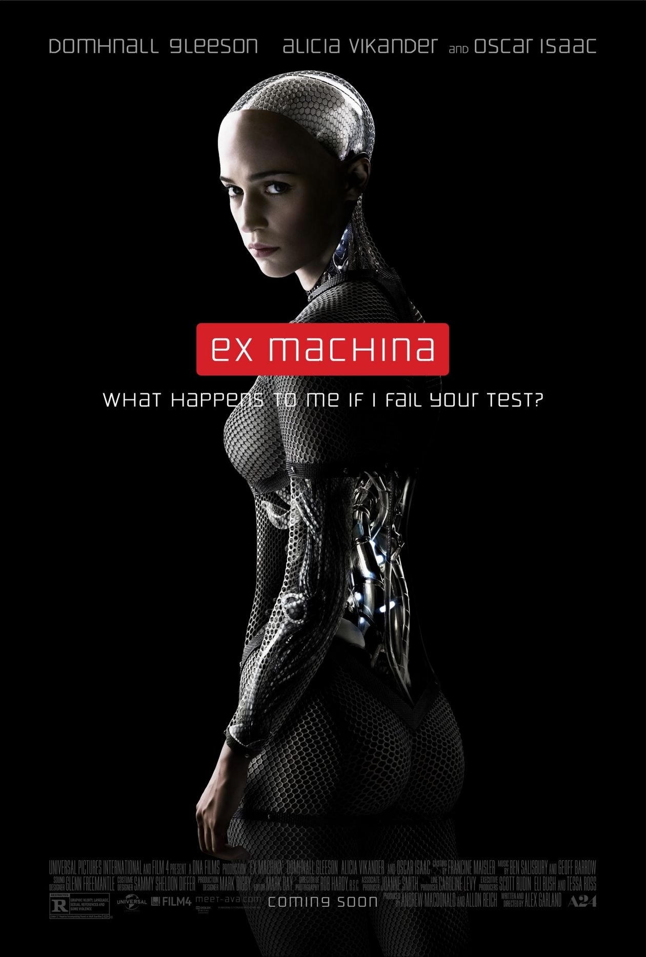 Alicia Vikander | Ex Machina / Alex Garland / Movie Poster / Affiche film
