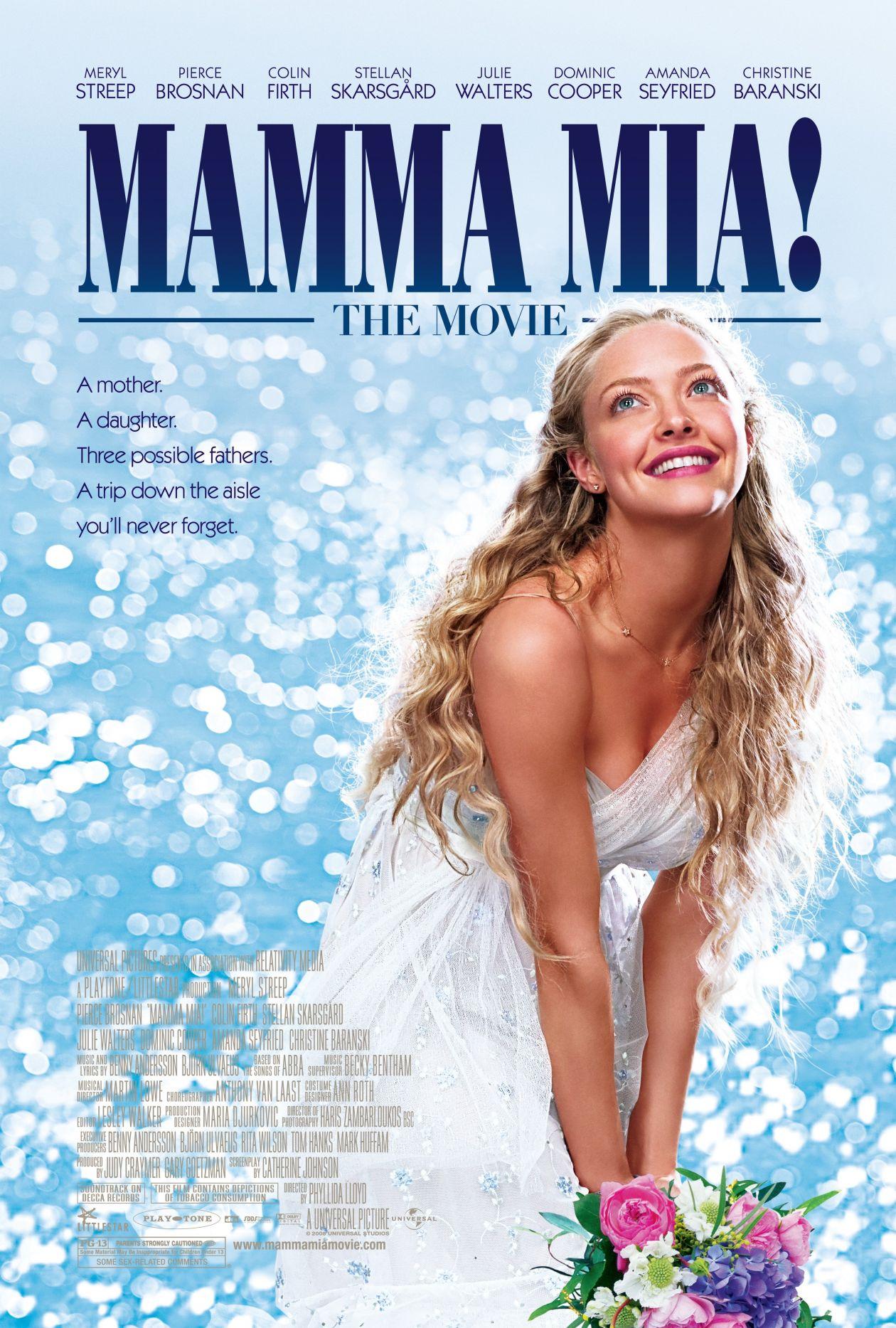 Amanda Seyfried   Mamma Mia! Movie Poster Affiche film
