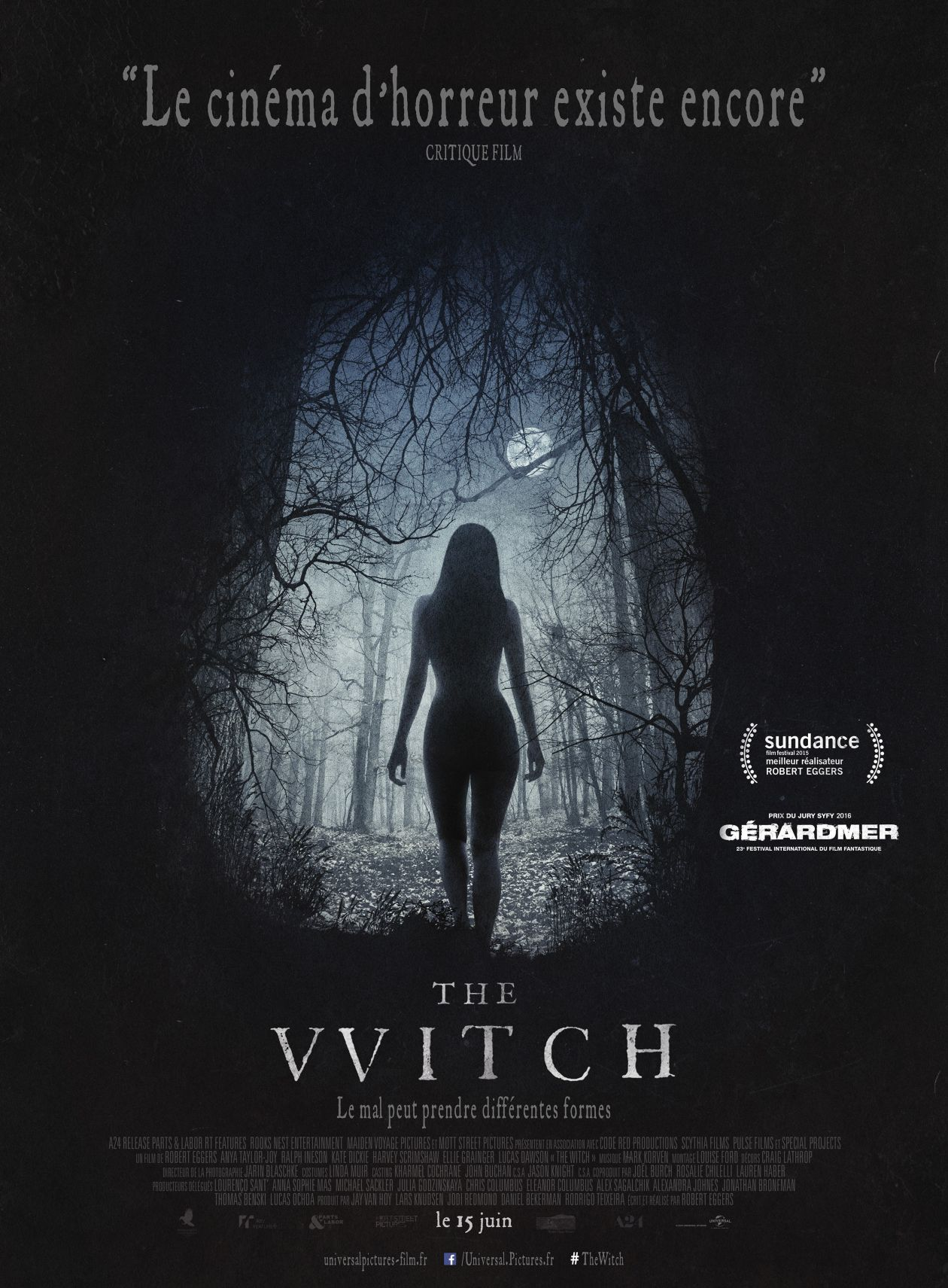 Anya Taylor-Joy actress | The Witch / Robert Eggers 2015 Movie Poster Affiche film