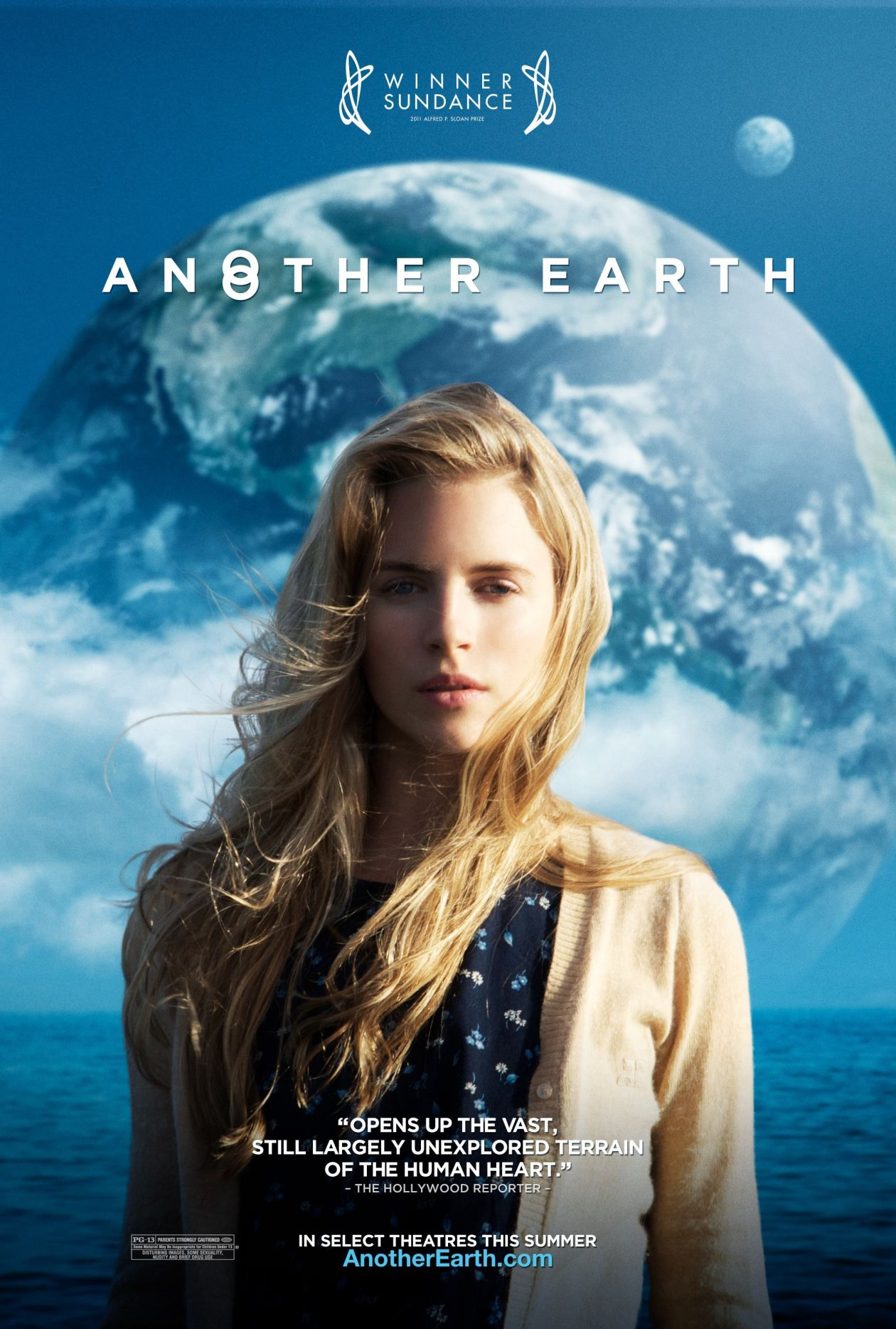Brit Marling actress | Another Earth / Mike Cahill 2011 Movie Poster / Affiche de film