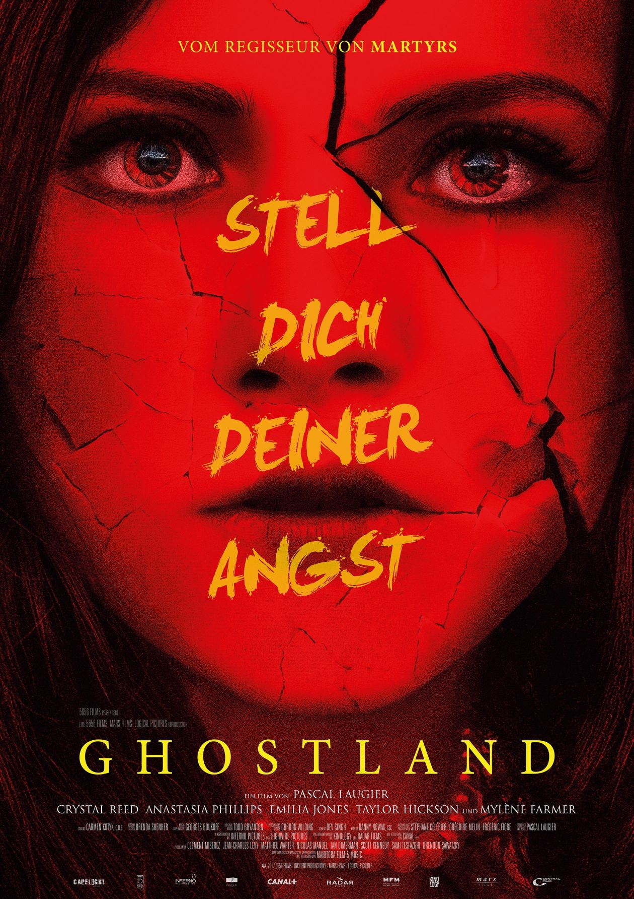 Crystal Reed actress / Elizabeth Keller / Ghostland / Pascal Laugier 2018 Movie Poster Affiche film