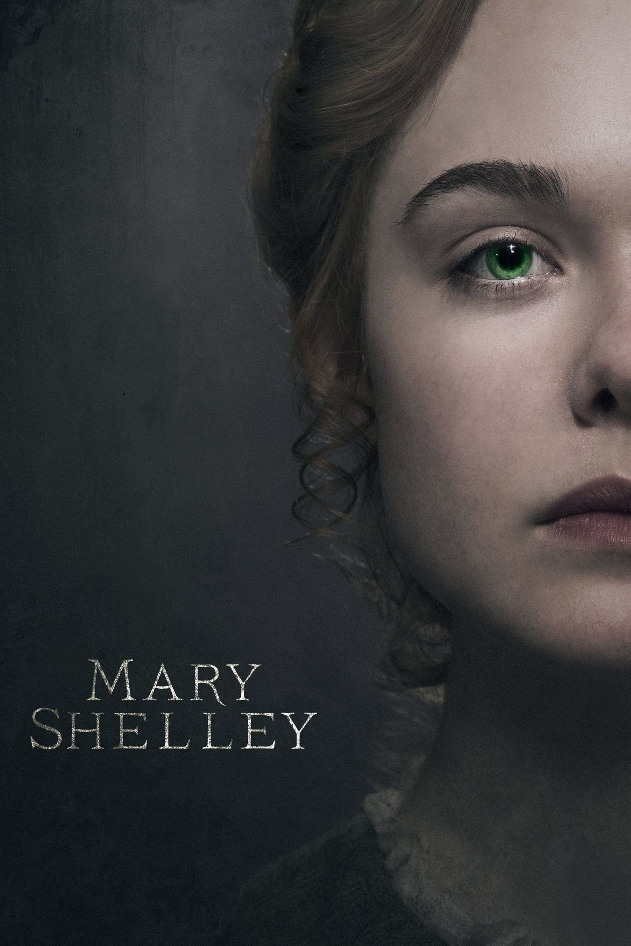 Elle Fanning actress | Mary Shelley / Haifaa Al-Mansour 2017 Movie Poster Affiche film