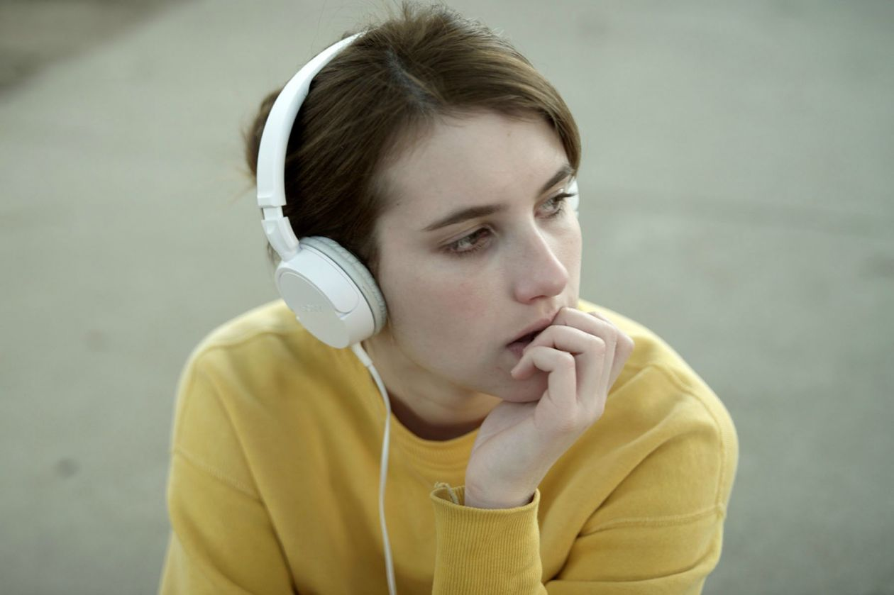 Emma Roberts actress actrice comédienne   2013 : Palo Alto / Gia Coppola : April