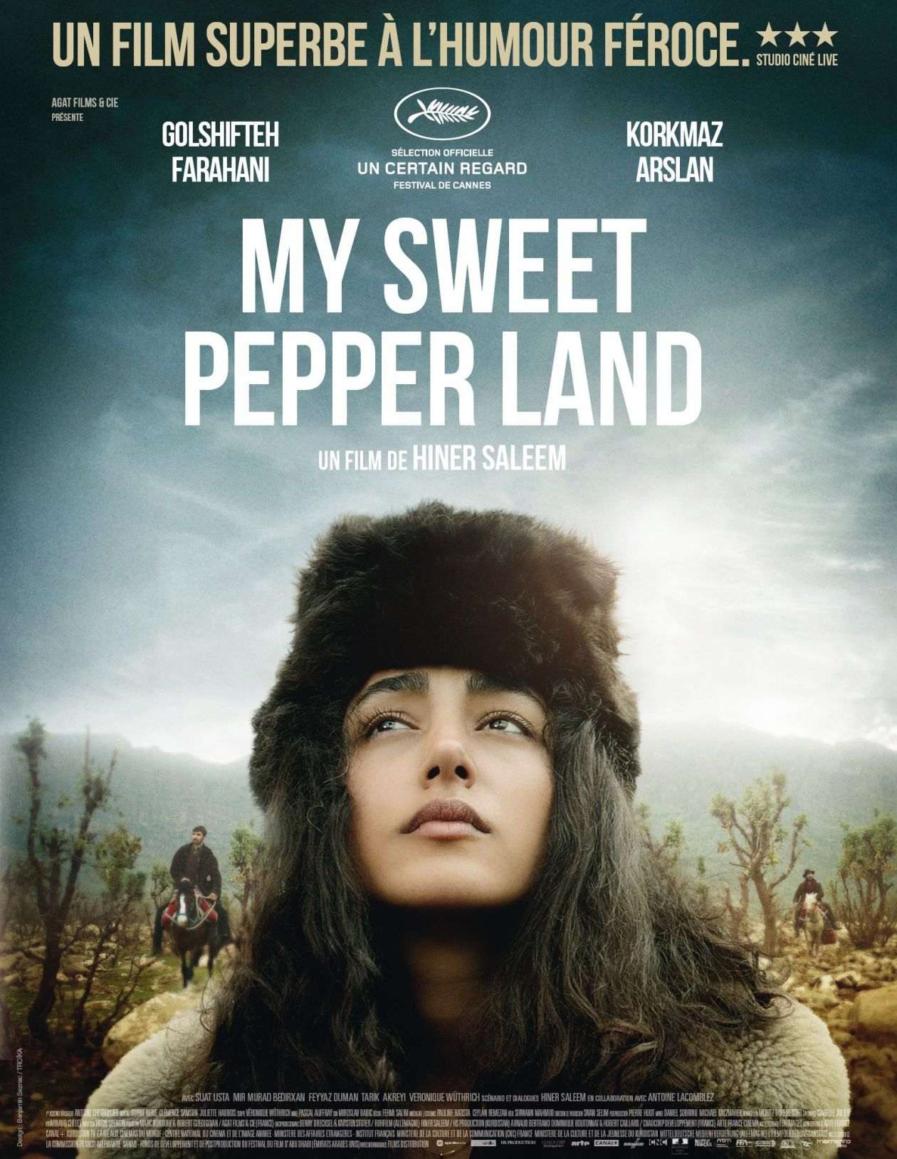 Golshifteh Farahani actress actrice comédienne | My Sweet Pepperland / Huner Saleem 2013 Movie Poster Affiche film