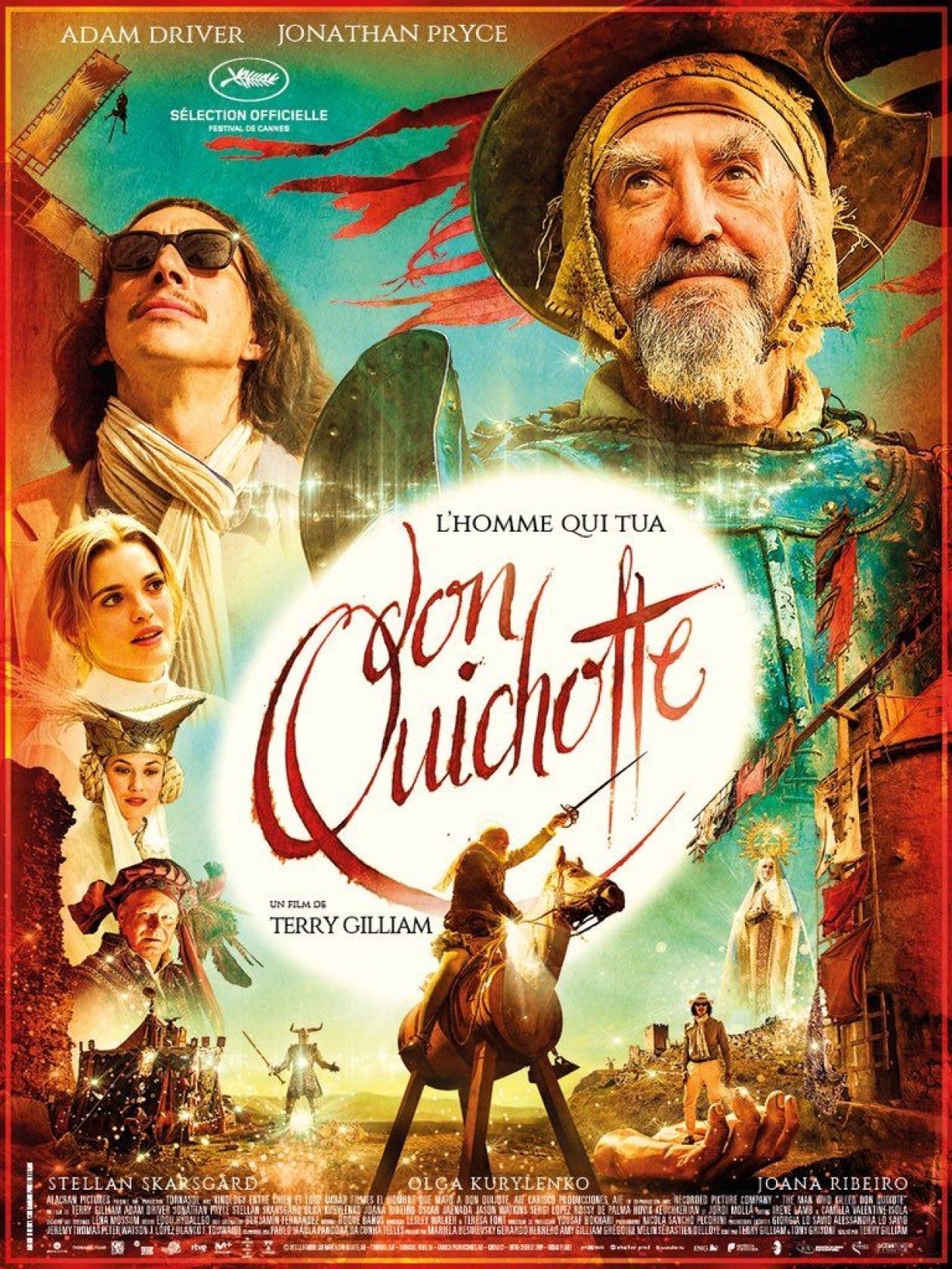 Joana Ribeiro actress | The Man Who Killed Don Quixote / L'Homme qui tua Don Quichotte | Terry Gilliam 2018 Movie Poster Affiche film