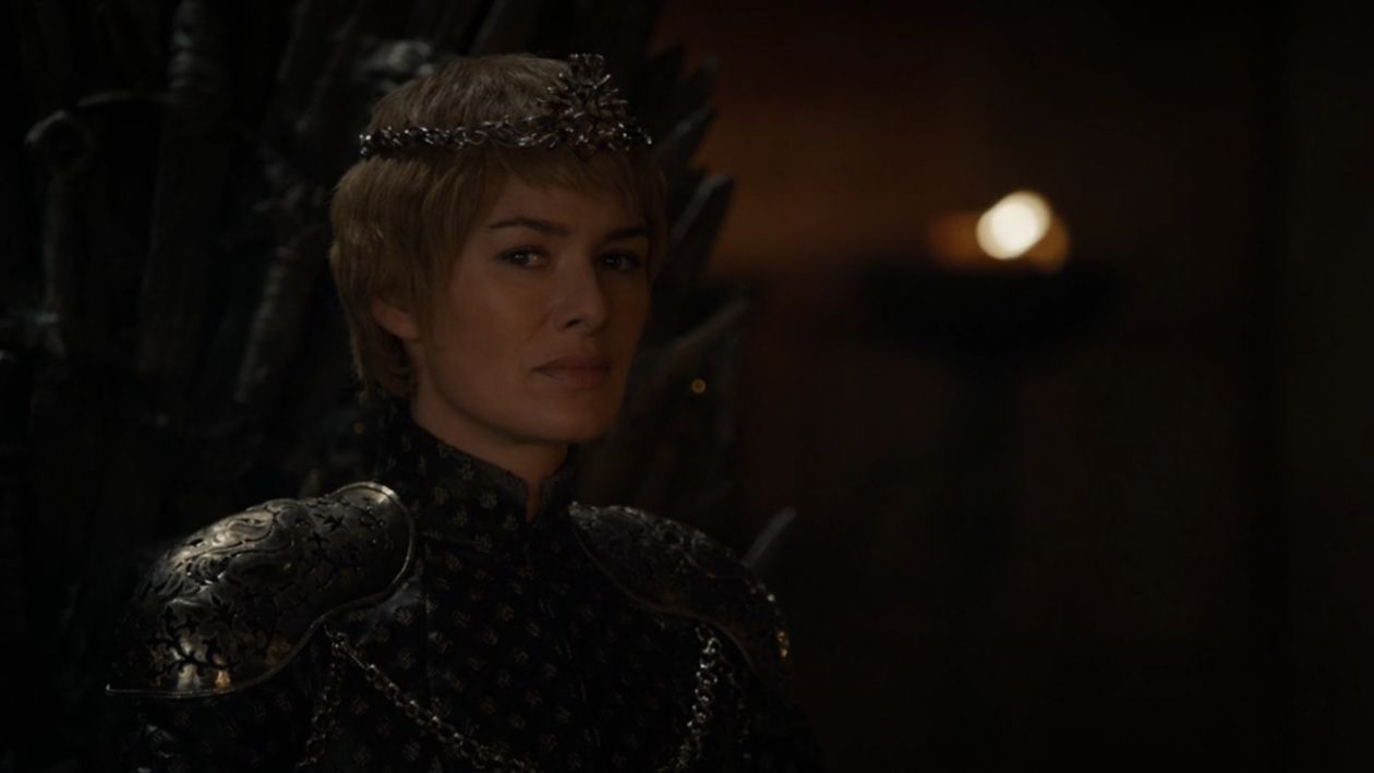 Lena Headey actress / Cersei Lannister / Game of Thrones / Season 6, Episode 10 / She's got this storm inside — human pain that we all identify with