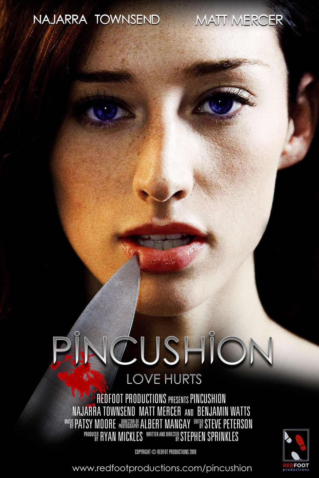 Najarra Townsend actress / Pincushion / 2010 / Stephen Sprinkles