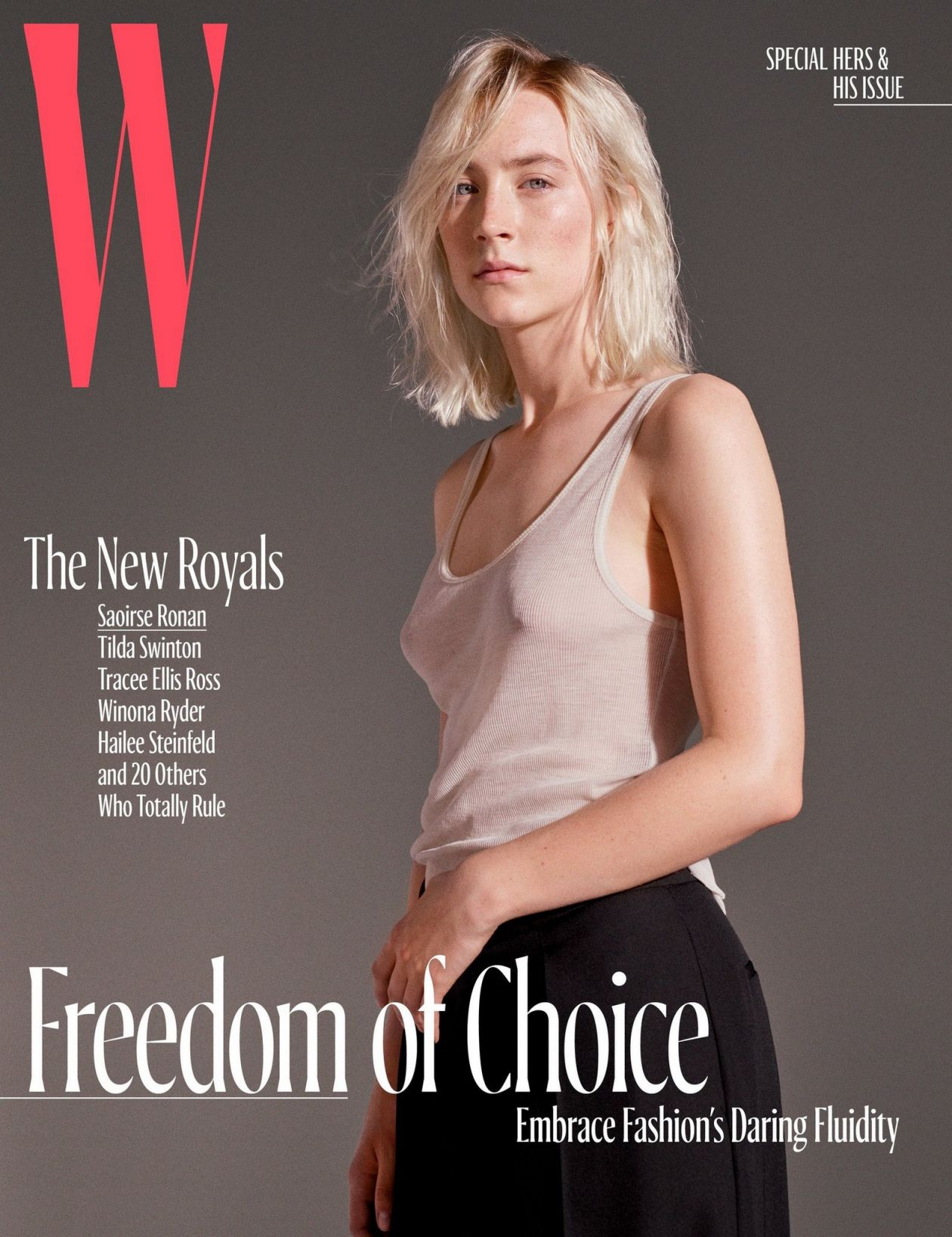 Saoirse Ronan, already, at 23, one of the most formidable actors in movies today | The New York Times