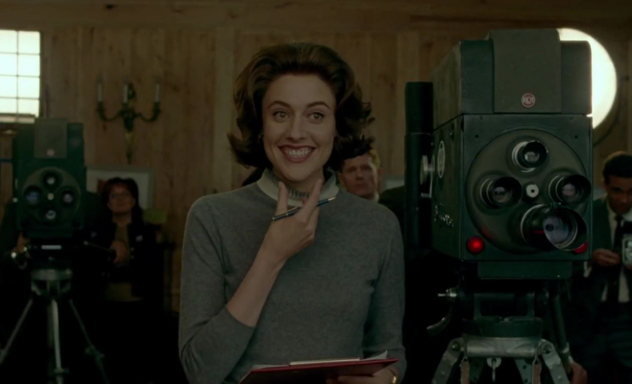 Greta GERWIG : NANCY TUCKERMAN   JACKIE - PABLO LARRAIN