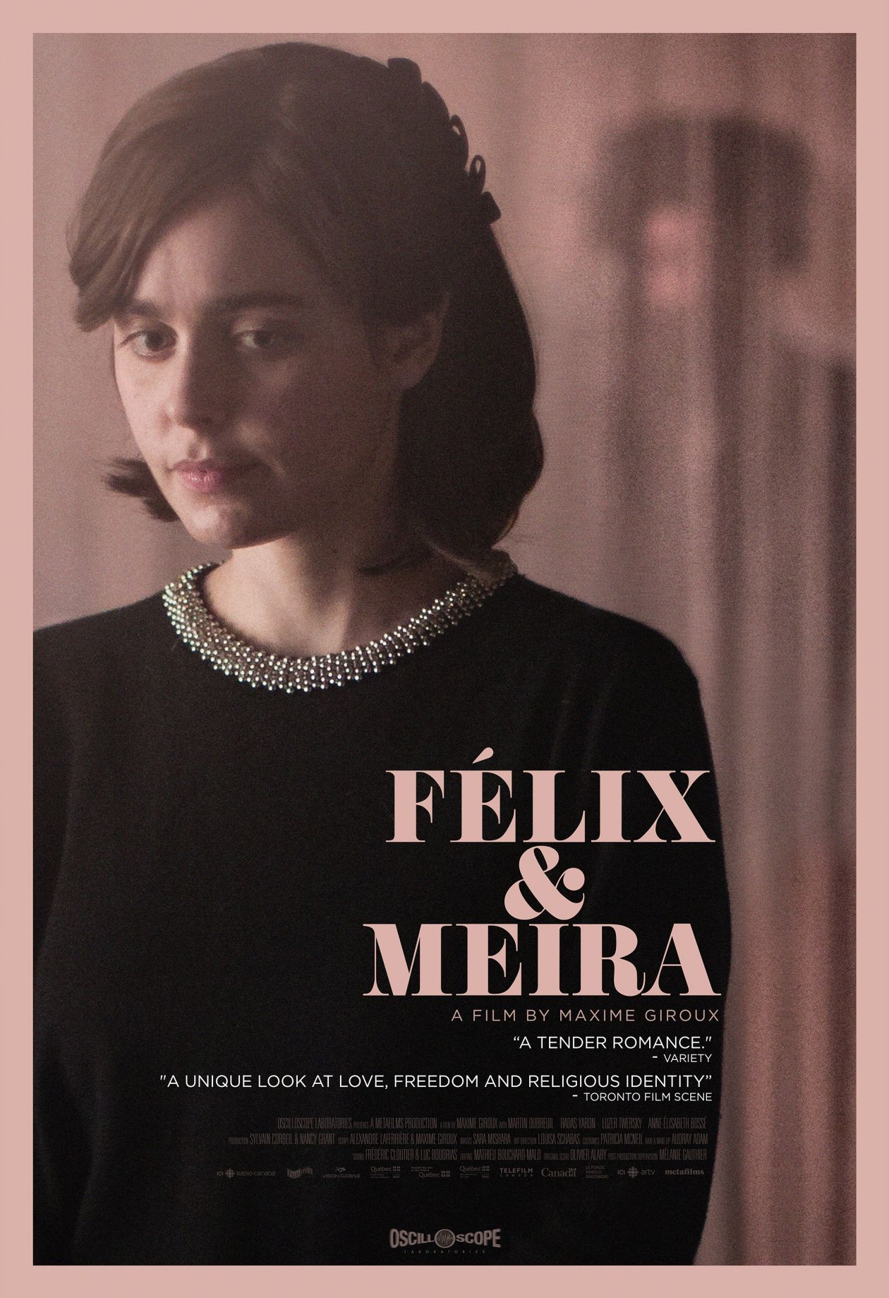Hadas Yaron actress | Felix & Meira / Maxime Giroux 2014 / Movie Poster / Affiche film