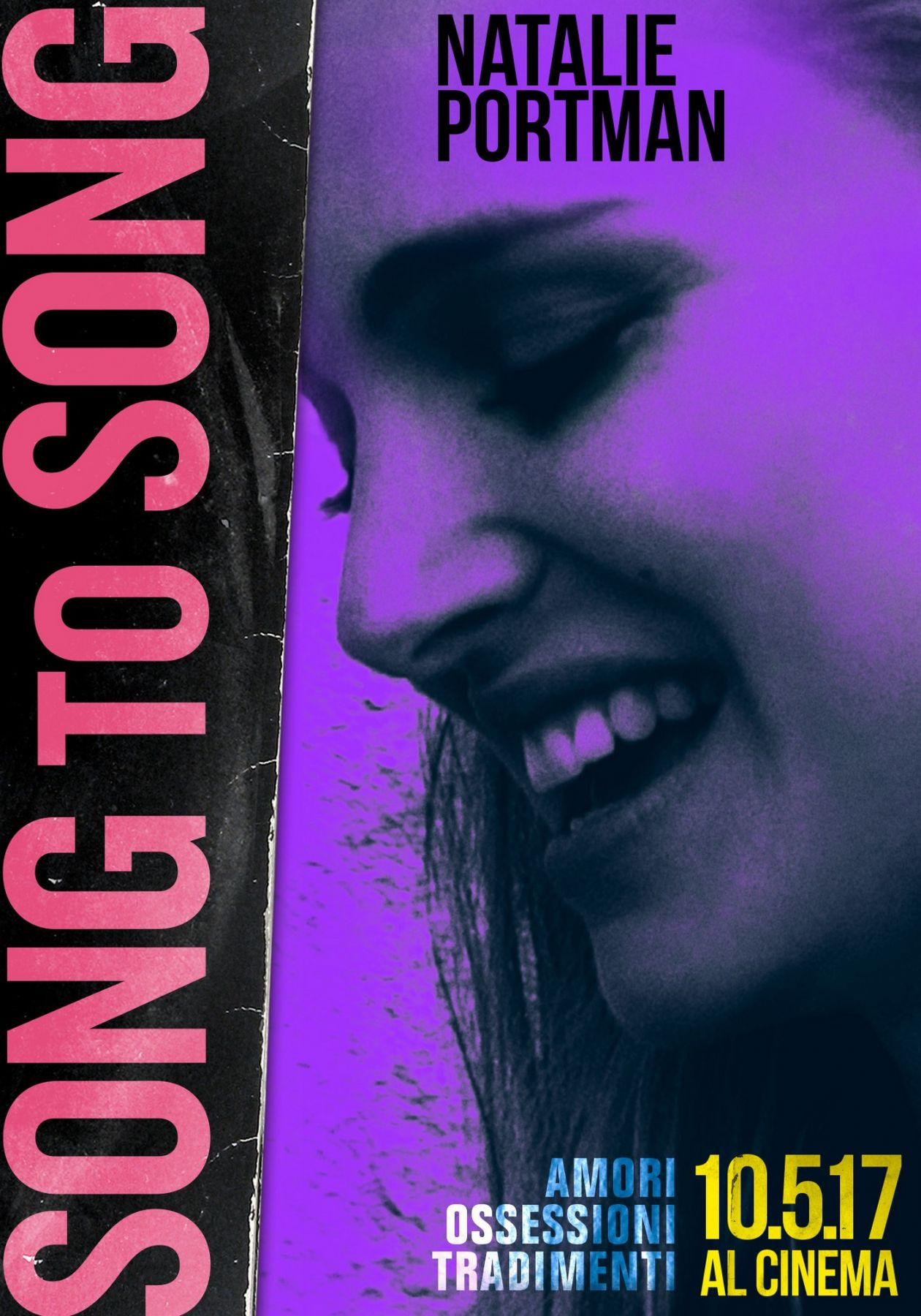 Natalie Portman actress   Song to Song / Terrence Malick 2017 Movie Poster Affiche film