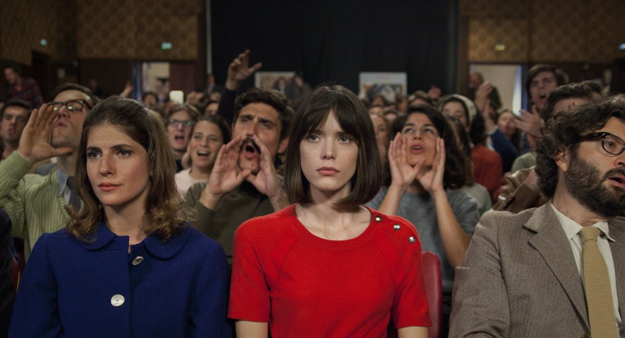 Stacy Martin : Anne Wiazemsky  LE REDOUTABLE (Jean-Luc Godard)   Michel Hazanavicius 2017