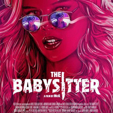 Samara Weaving Australian actress | The Babysitter : Bee | McG / Netflix 2017 / MOVIE POSTER
