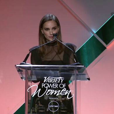 Natalie Portman: If a man says to you that a woman is crazy or difficult, ask him, 'What bad thing did you do to her?' - VIDEO | Natalie Portman's Step-by-Step Guide to Toppling the Patriarchy / Time's Up movement at Variety's Power of Women event